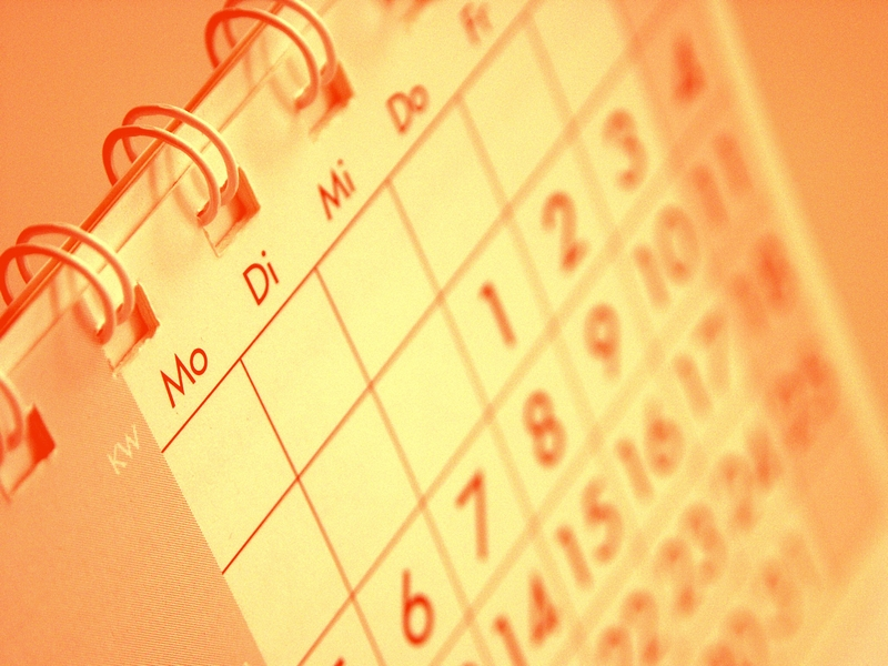 Arbeitsorganisation Kalender entzerren