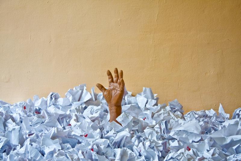 Papierlos klingt anders – Zerknüllgeräusch fehlt