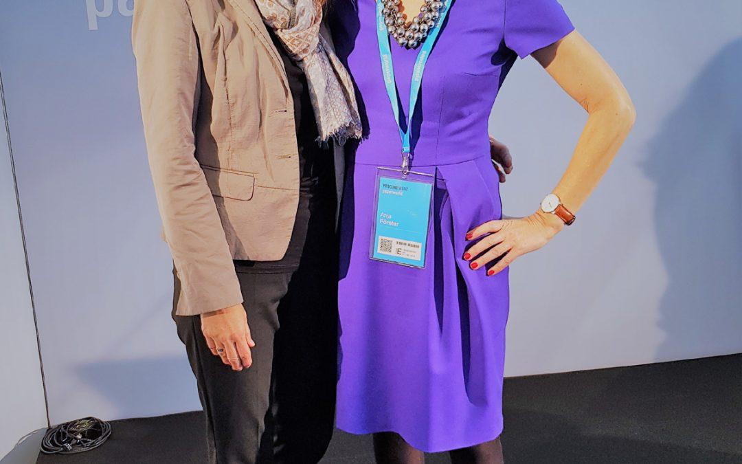 Rositta Beck trifft Querdenkerin Anja Förster