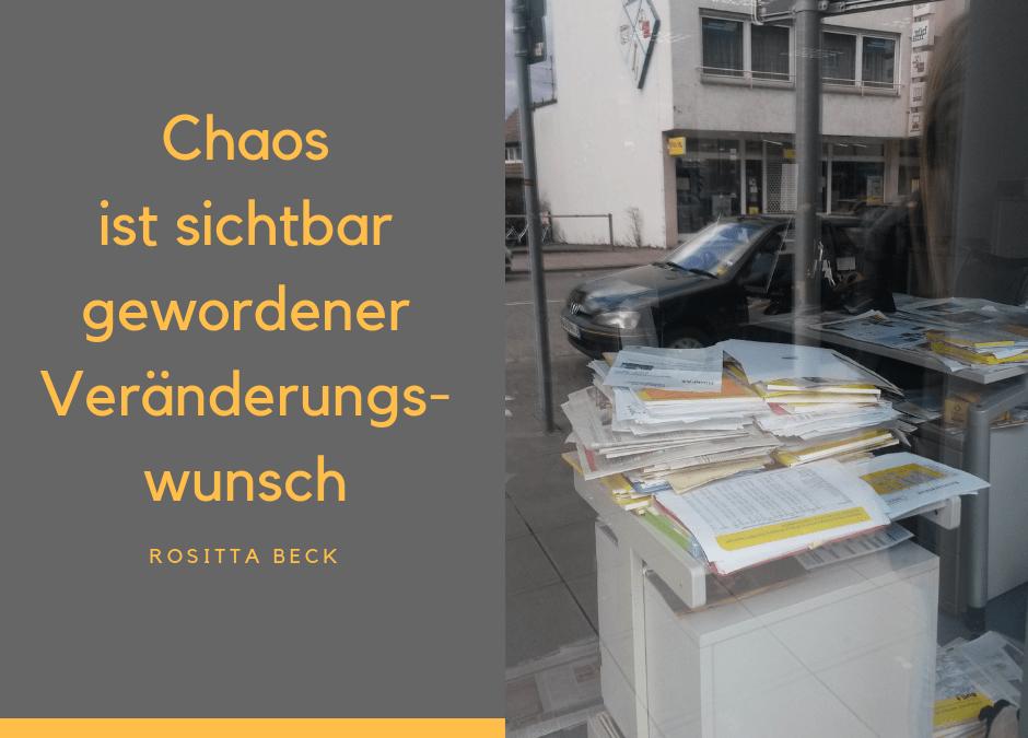 Chaos loswerden – Schreibtisch frei