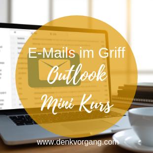 Kostenloser Outlook Mini Kurs – gestartet