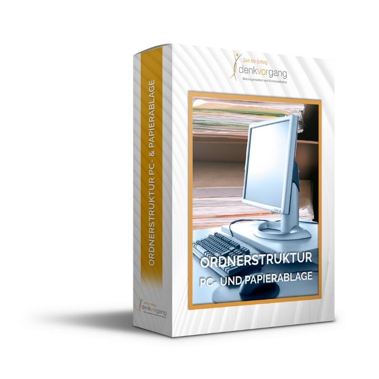 Ablageorganisation Struktur PC E-Mails Papier