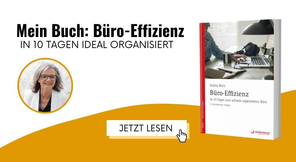 Büroorganisation Buch Büro-Effizienz