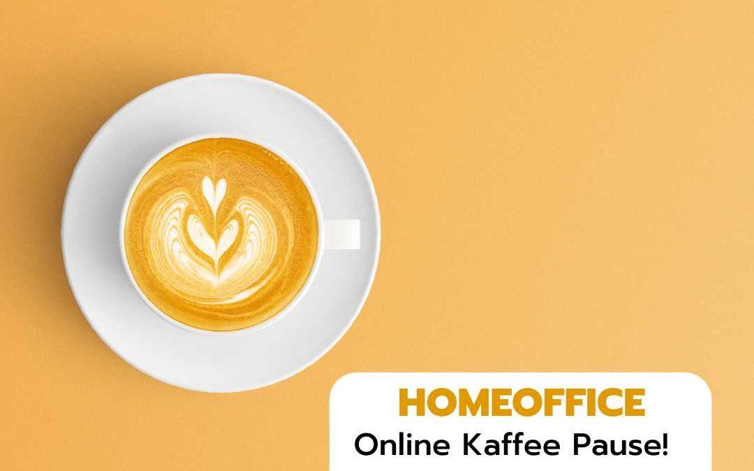 Online Kaffee Pause mit Zeit Nuggets