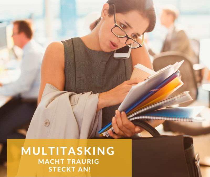 Studie Multitasking macht traurig