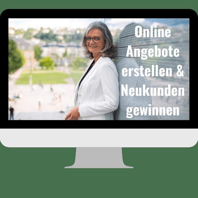 Online Kurs + Mastermind, Angebote und Neukunden