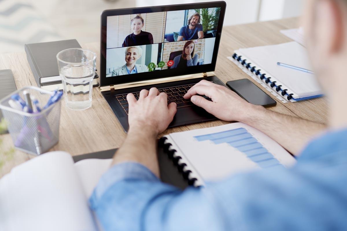 Virtuelle Zusammenarbeit und Führung vom Homeoffice optimieren
